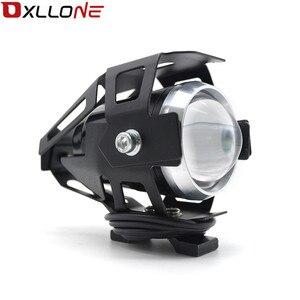 Image 1 - 가와사키 닌자 h2r ZX 6R ZX 6R 몬스터 에너지에 대 한 스포트 테일 램프 안개 빛을 운전하는 범용 12 v 오토바이 금속 led 미등