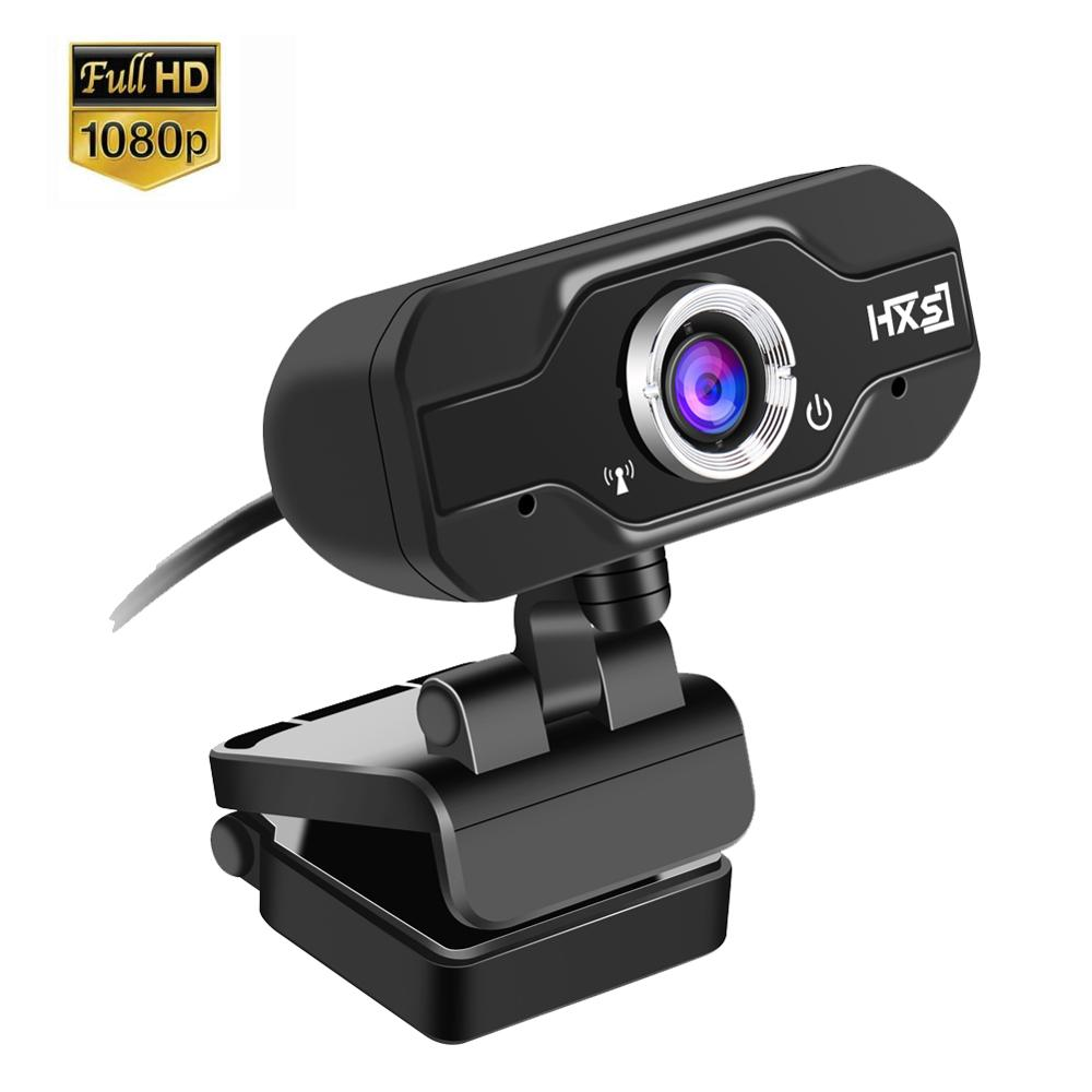 1080P FULL HD Web Cam with Absorption Microphone MIC for Skype for Android TV Rotatable Computer Special effects Camera Webcam