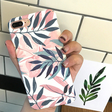 купить TPU Flower Print Easy Apply Shockproof Shell Case Protective Cover Back Cover Dust Resistant Fashion For Iphone 8 Plus XS Max XR дешево