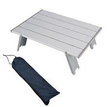 Table pliante Portable ultralégère avec sac de transport, Mini mobilier de jardin, bureau de pique-nique