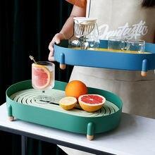 Сливной поднос для чая стеллаж хранения скандинавский простой