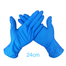 10/50/100PCS Wear-Resistant Durable Nitrile Disposable Gloves Rubber Latex Food Medical Household Cleaning Glove Isolating Virus