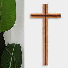 Home-Decor Gift Wood Wall Church Cross-Mysterious Christian-Style Durable Craft Rubber