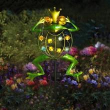 Lawn-Lawn-Lamp Pathway-Lighting Garden-Decoration Frog Outdoor Led Waterproof Landscape