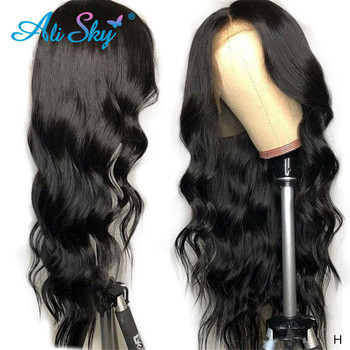 Malaysian Body Wave HD Transparent Lace Frontal Wigs Human Hair Wigs For Black Women 13X6 Lace Front Wig Pre Plucked Remy Hair sunya peruvian 100% human hair wigs transparent lace front wigs for women pre plucked 13x6 straight lace front wigs remy hair
