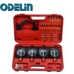 Carburador de vacío de combustible, sincronizador, equilibrador de carburador, conjunto de calibrador de sincronización, herramienta automática 4, Kit para GS CB KZ XS 550 650 750 850