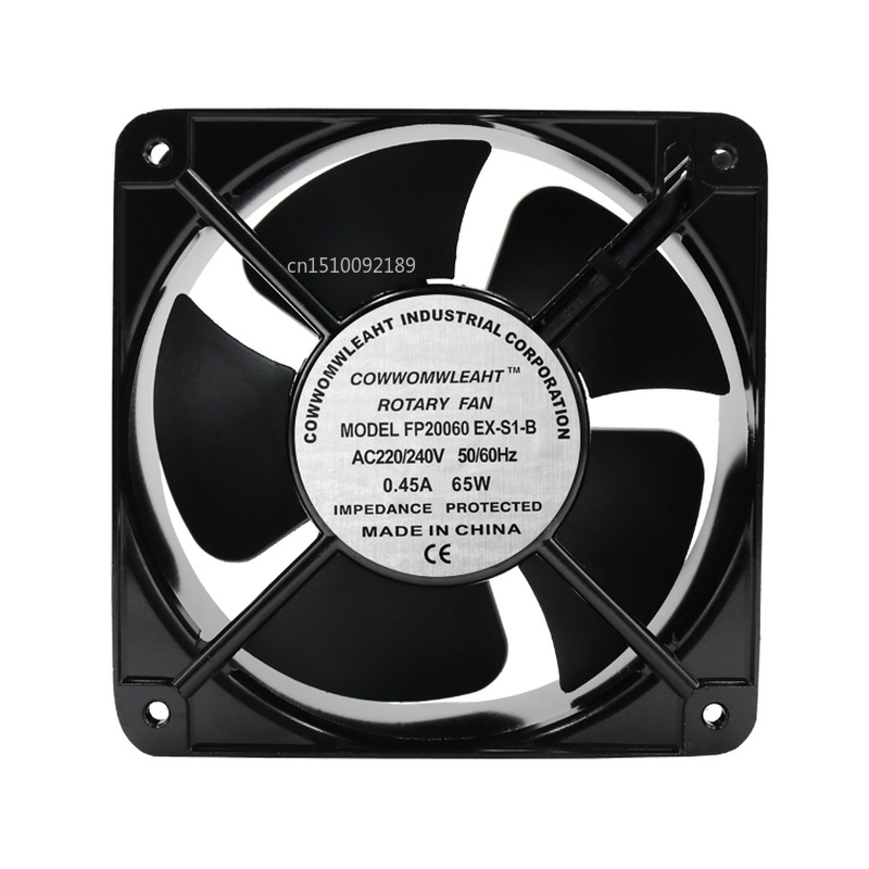 For Cooling Fan 20cm Fan 20060 Ball 220V AC Fan FP-20060EX-S1-B Free Shipping