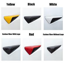 2 pçs guarnição lateral câmera capa de proteção para tesla model y 3 x s