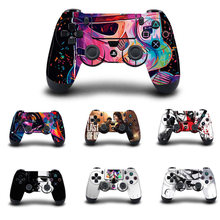 PS4 controlador pegatina cubierta protectora vinilo calcomanía para PS4 Playstation 4/Pro/Slim Gamepad Skins(China)