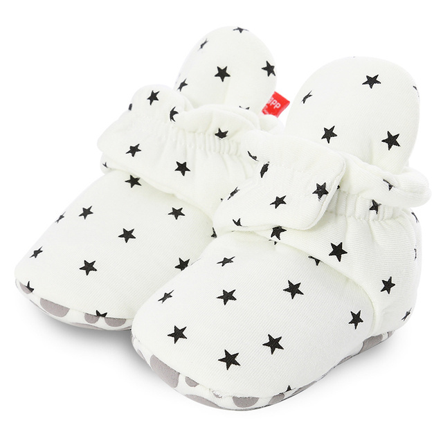 Newborn Baby Slippers - Stars and Stripes