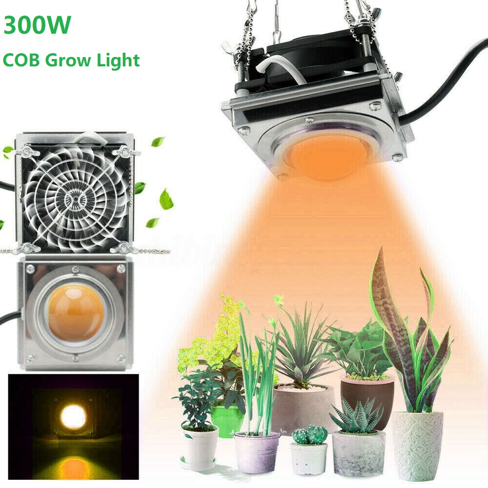 300W COB LED Grow Light Indoor Phyto Lamp Full Spectrum Led Growth Lamp Waterproof IP65 Grow Tent Box Lamps For Plants Flowers