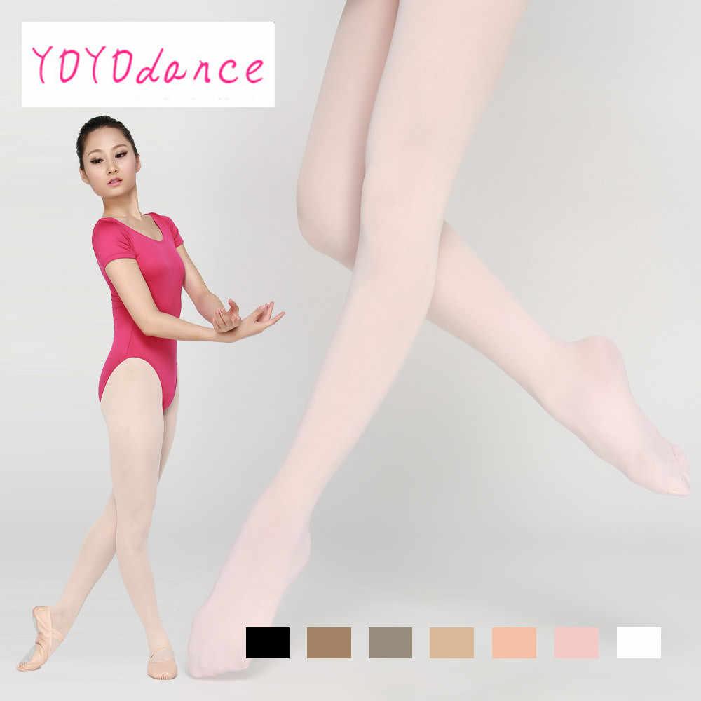 Nuova Qualità di Arrivo delle Donne Sexy Piede Pieno Lungo Calze E Autoreggenti sottile Calzamaglie Altamente da ballo Alla Moda Calzamaglie Colore Puro Collant 4819