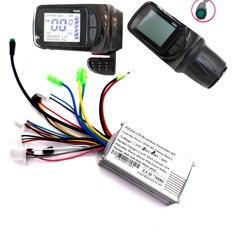 FOCAN 36V 48V 250W elektryczny wodoodporny rower bezszczotkowy kontroler zestaw skuter sterownik silnika z Panel wyświetlacza LCD sterowania|Akcesoria|Samochody i motocykle -