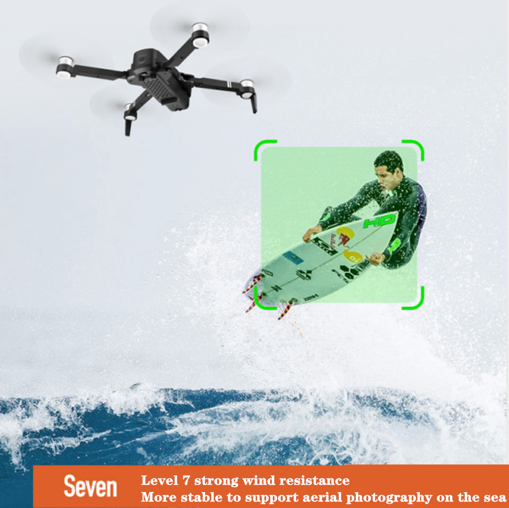 RC GPS Drone 4K 5G Quadrocopter with Wide-Angle Camera Gesture Foldable  Quadcopter Optical Flow Dron VS F11 B4W SG906