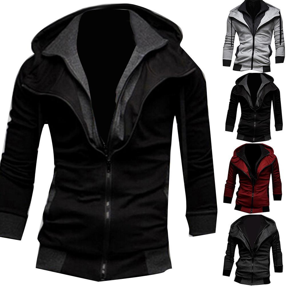 Jacket Men Autumn Winter Zipper Casual Jackets Windbreaker Men Coat Business Veste Homme Outdoor Stormwear Clothing