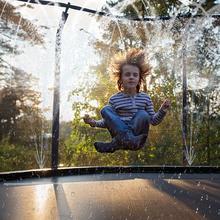 Trampoline Home Children Indoor Trampoline Waterpark Sprinkler Best Outdoor Summer Toys For Kids Water spray gun