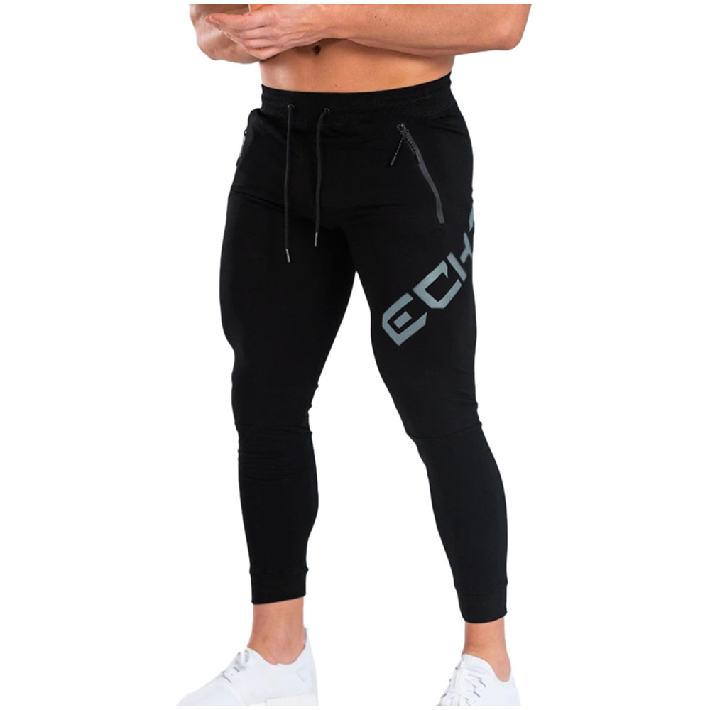 Jogger Sweatpants Men Casual Pants Gym Fitness Training Trousers Male Spring Autumn Cotton Skinny Running Track Pants Sportswear title=