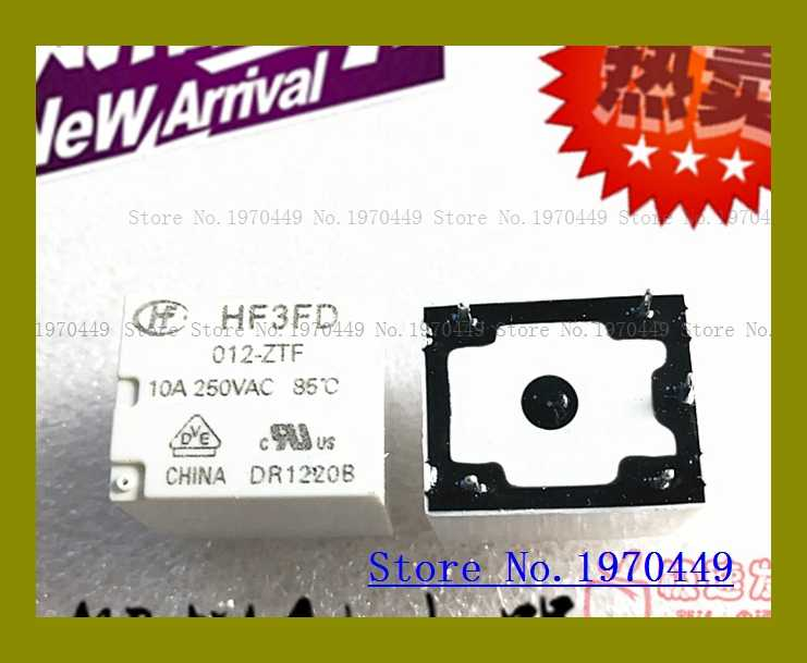 HF3FD 012-ZTF HF3F 5 10A 12VDC