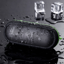 Portable Handheld Bluetooth waterproof Speakers Outdoor Mini Subwoofer TF card boombox  Wireless Woofer Handsfree Call