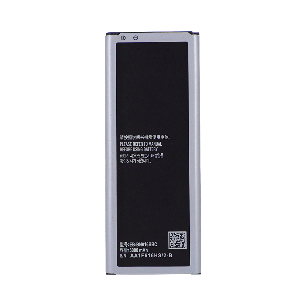 2 Pcs OHD Original <font><b>Battery</b></font> EB-BN916BBC For Samsung GALAXY NOTE4 N9100 N9108V N9109V N9106W <font><b>NOTE</b></font> <font><b>4</b></font> with NFC <font><b>3000mAh</b></font> 5.0 image