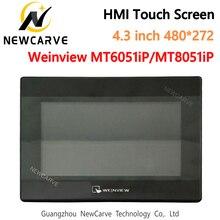 USB Ethernet HMI Сенсорный экран WEINVIEW/WEINTEK MT6051iP MT8051iP 4,3 дюймов 480*272 новый дисплей интерфейса человека