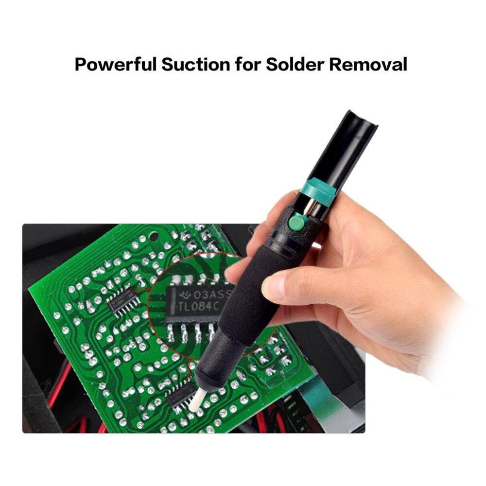 Desoldering Pump Suction Tin Gun Soldering Sucker Pen Removal Vacuum Soldering Iron Desolder Hand Welding Tools
