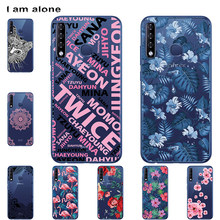 I am alone Phone Cases For Infinix Smart 3 Plus X627 2019 6.21 inch Soft TPU Mobile Fashion Bags For Infinix X627 Free Shipping(China)