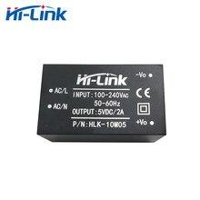 Бесплатная доставка, Hi-Link, новинка, 5 шт., 220 В, 5 В, 10 Вт, изолированный понижающий модуль питания переменного и постоянного тока, 2 А, преобразов...