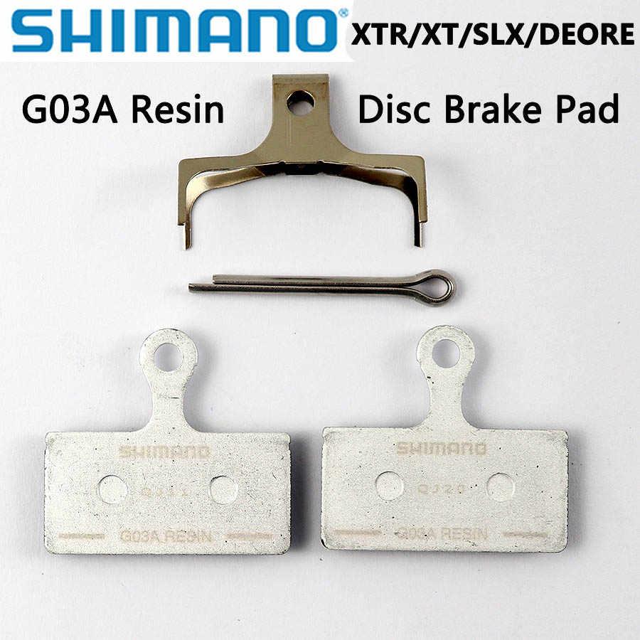 Shimano G03A Resin Disc Brake Pads Bike Bicycle for XTR XT SLX Deore ALFINE