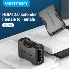 Vention-extensor HDMI hembra a hembra, adaptador con Cable de extensión para PS4/3, Monitor, Nintendo Switch, convertidor de Cable HDMI 2,0