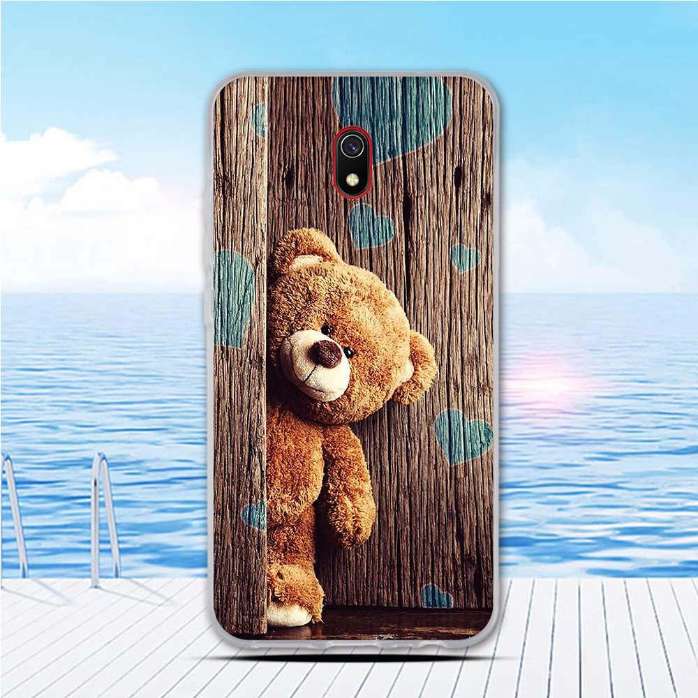Case For Xiaomi Redmi 8A Cases Full Protection Silicone Soft TPU Back Cover For Redmi 8 Bumper Cartoon Phone Shell Bag