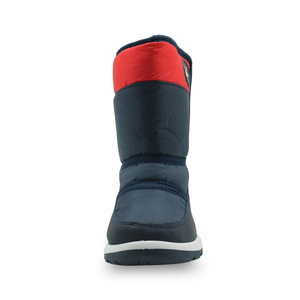 Image 2 - Apakowa Boys and Girls Waterproof Snow Boots Kids Winter Outdoor Mountaineering Skiing Shoes Students Mid Calf Warm Woolen Boots