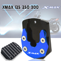 Für YAMAHA XMAX 125 250 300 X-MAX XMAX300 XMAX250 2017 2018 2019 Motorrad CNC Ständer Seitenständer Stehen Erweiterung Enlarger Pad