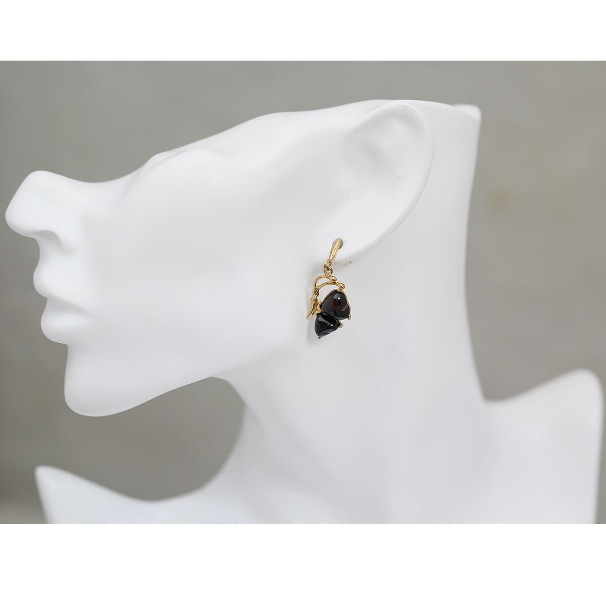 Beadsnice ID39759 or rempli boucle d'oreille fête des mères cadeau bijoux boucles d'oreilles pour les femmes - 6