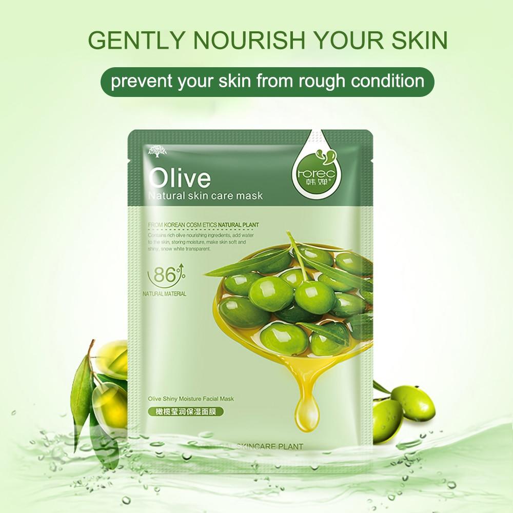Face Skin Care Moisturizer Face Masks Natural Plant Facial Mask Whitening Oil Control Wrapped Mask Aloe Vera Honey Facial Masks 4