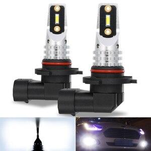 2x HB4 9006 HB3 9005 H11Led Противотуманные фары Лампа Белая Автомобильная ходовая лампа авто для VW Golf 4 5 7 6 Passat B5 B6 B7 Touareg