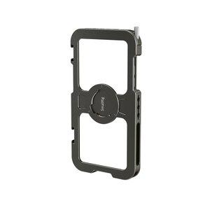 """Image 3 - Smallrig Pro Mobiele Kooi Voor Iphone 11 Pro Max Nauwsluitend Beschermende Kooi Met 1/4 """" 20 Schroefdraad gaten/Koud Schoen Mount   2512"""