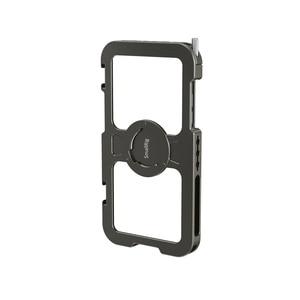 Image 3 - قفص هاتف محمول صغير احترافي لهاتف iPhone 11 Pro Max قفص واقي مُناسب حسب الطلب مع 1/4 بوصة 20 فتحة ملولبة/حامل أحذية بارد 2512