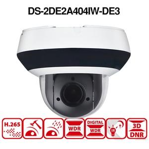 Image 4 - Hikvision PTZ IP Camera DS 2DE2A404IW DE3 4MP 4X Zoom Network POE H.265 IK10 ROI WDR DNR Dome CCTV Camera Original or OEM