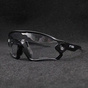 Image 4 - Hot Sale Clear Photochromic Cycling Sunglasses Sports Sunglasses Men Women MTB Road Bicycle Cycling Glasses Eyewear