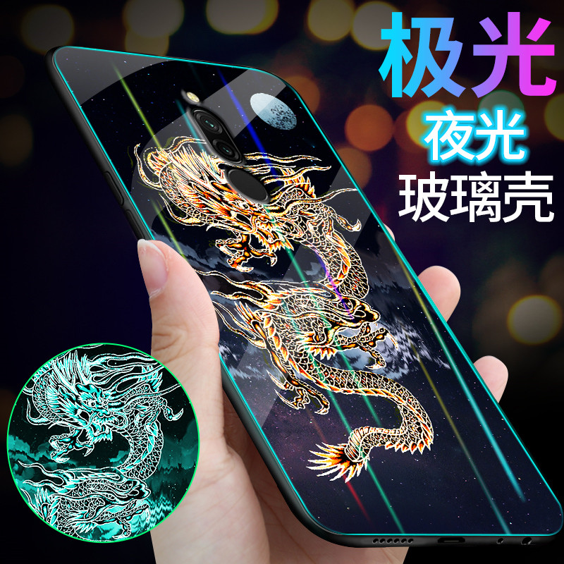 Luminous Phone Case For Xiaomi Redmi <font><b>8</b></font> Case <font><b>6.22</b></font>