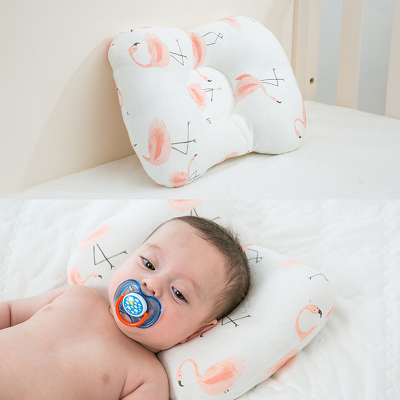 Baby Pillow Muslin Head Protection Cushion Newborn Anti Flat Head Baby Bedding Infant Nursing Pillows Toddler Sleep Positioner