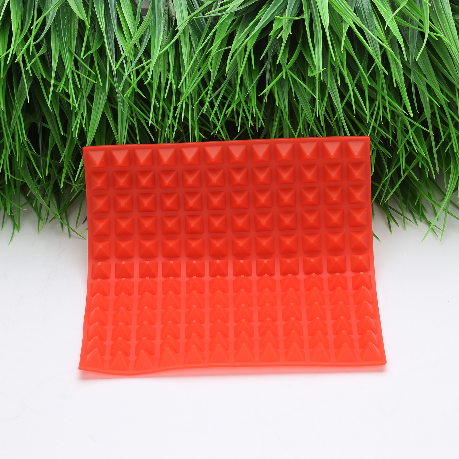 3 Colors Silicone Baking Mat In Non Toxic And High Temperature Resistance For Chocolate And Jelly Pudding 15