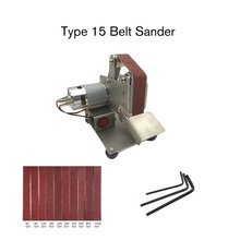 Multifunctional Grinder Mini Electric Belt Sander Polishing Grinding Machine Cutter Edges Sharpener Belt Grinder Sanding