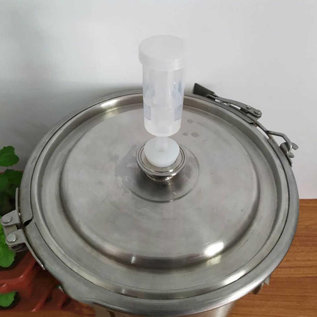 Cerveja de vinho de fermentação da válvula de escape do barril de cerveja do fechamento de ar de uma maneira que faz a água selada válvula de verificação três peças