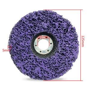 Image 5 - Полиполосный диск 125 мм, абразивные диски для удаления краски и ржавчины, чистящие шлифовальные круги для долговечной угловой шлифовальной машины, грузовик, мотоциклы