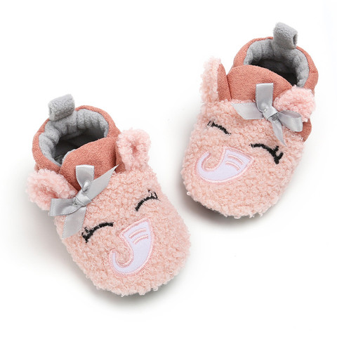 Kid Slippers All-Inclusive Cotton Cartoon Soft Home Indoor Baby Cotton Slippers Baby Boys Girls Shoes Warm Home Slippers Islamabad