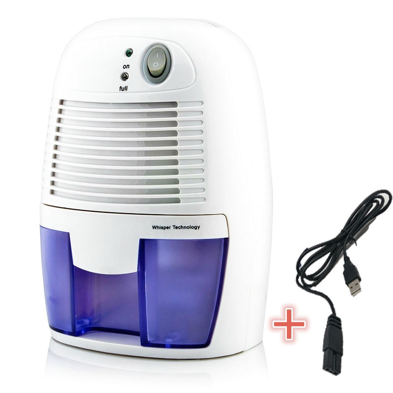 15% Dehumidifier Air Dryer USB 500ML Compatible Home Bathroom Office Absorbing Car Mini Air Dryer Electric Cooling 5V/2A