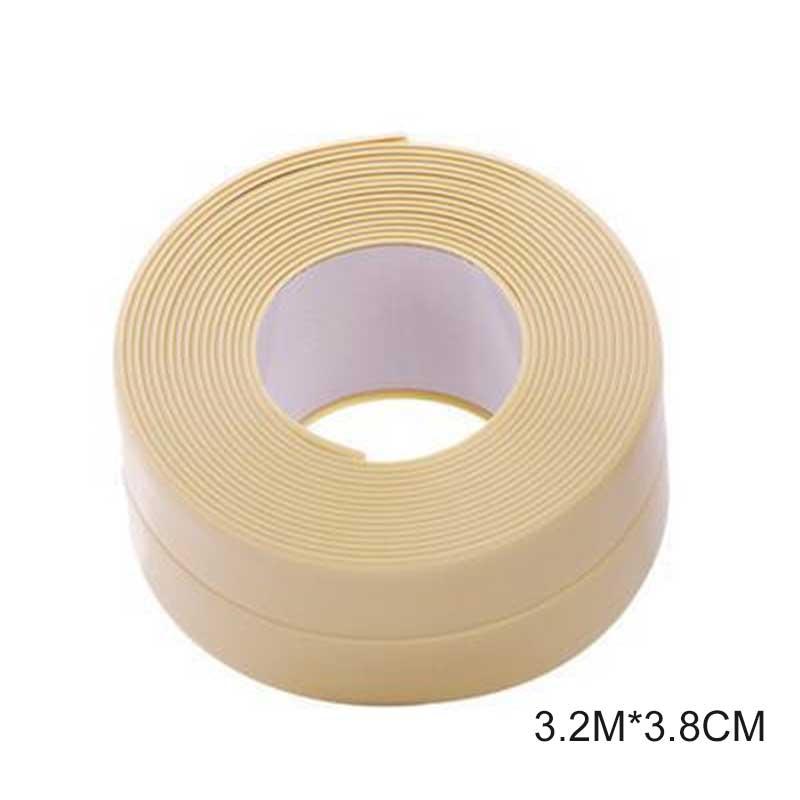 Самоклеющиеся клейкие ленты для ванной, ванной, душа, туалета, кухни, стены, герметичные, водонепроницаемые, Mildewproof, клейкие ленты HYD88 - Цвет: 3.2Mx3.8cm