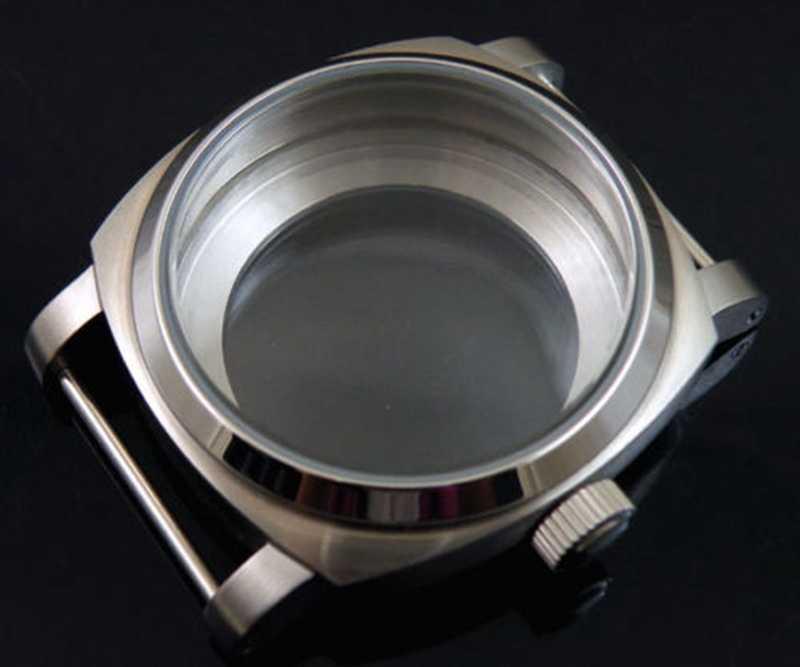 44mm reloj de acero inoxidable funda eta 6497 6498 ST36 HAMILTON 917 movimiento de 921